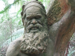 Face of Aboriginal man - William Rickett's Sanctuary