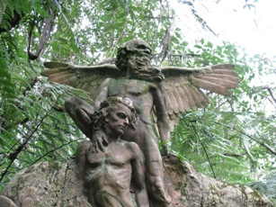 Winged man - William Rickett's Sanctuary