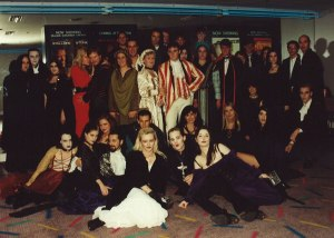Interview with the Vampire group at the premiere in Sydney