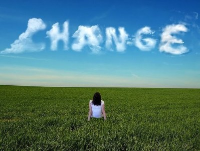 change is always changing...